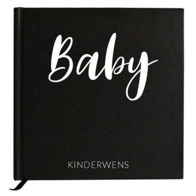 Baby Bunny - Baby kinderwensboek - voorkant - invulboekjes.nl