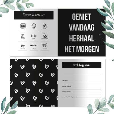 Baby Bunny - Baby kraambezoek - binnenkant - invulboekjes.nl