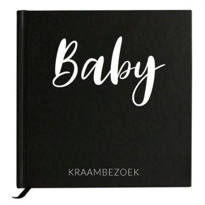 Baby Bunny - Baby kraambezoek - voorkant - invulboekjes.nl