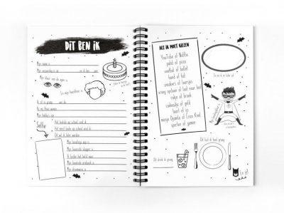 Van Mariel Mijn vriendenboekje – Jongen Vriendenboekje voor jongen