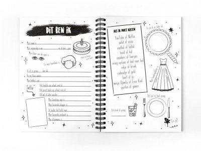 Van Mariel Mijn vriendenboekje – Meisje Vriendenboekje