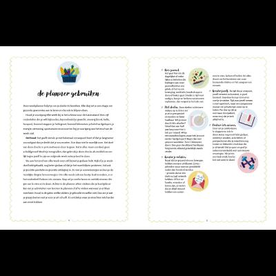 Elke dag gezond - de weekplanner met gezondheidstips, recepten & 300+ stickers - binnenkant 3 - invulboekjes.nl