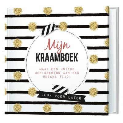 Invulboek Mijn kraamboek Kraambezoekboek