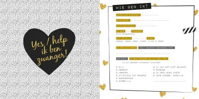 Invulboek Negen maandenboek 9 maanden dagboek