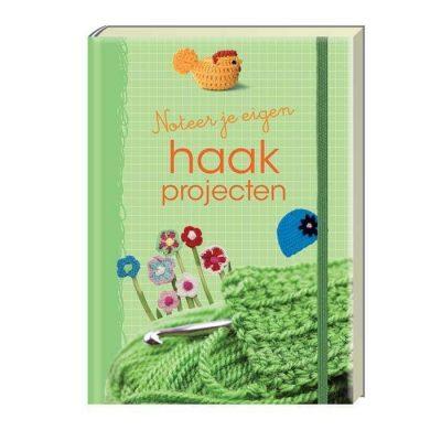Invulboek 'Noteer je eigen haakprojecten - Haakdagboek - Invulboekjes.nl