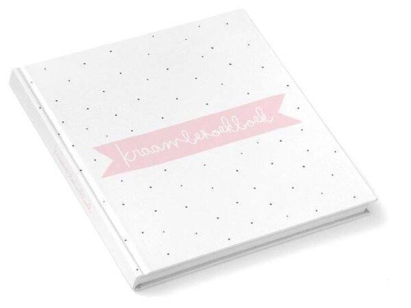 KIDOOZ Kraambezoekboek - Blush - voorkant - invulboekjes.nl