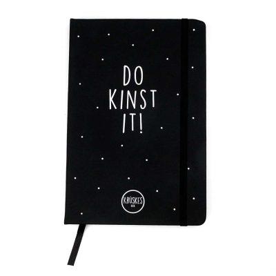 Krúskes Do kinst it! - Fries notitieboek - voorkant - invulboekjes.nl