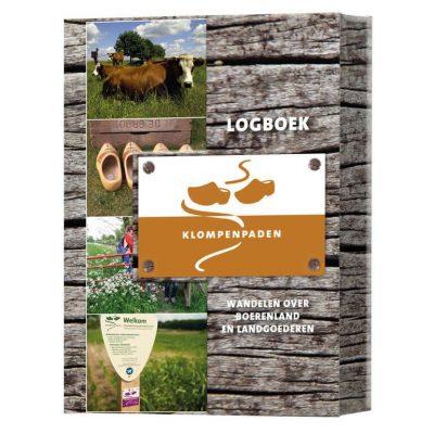 Logboek Klompenpaden 'wandelen over boerenland en landgoederen' - invulboekjes.nl