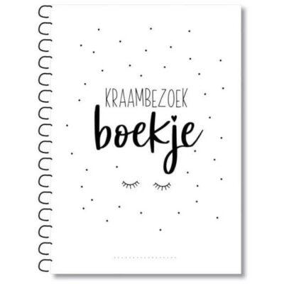 MIEKinvorm Kraambezoekboek - invulboekjes.nl