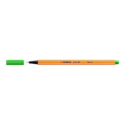 Stabilo Point 88 Fineliner – Fine 0,4mm - Groen