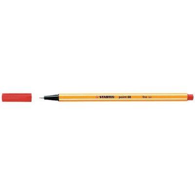 Stabilo Point 88 Fineliner – Fine 0,4mm - Rood - invulboekjes.nl