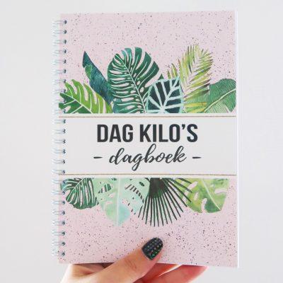 Studio DEMICO Dag kilo's dagboek - voorkant 2 - invulboekjes.nl