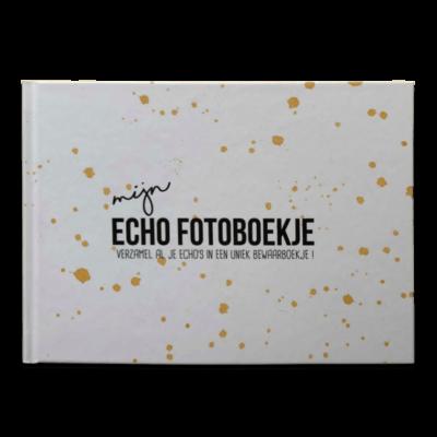 Studio DEMICO Mijn eerste fotoboekje - Echoboekje Oker - invulboekjes.nl