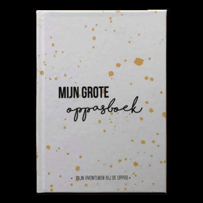 Studio DEMICO Mijn grote oppasboek - Oker - invulboekjes.nl