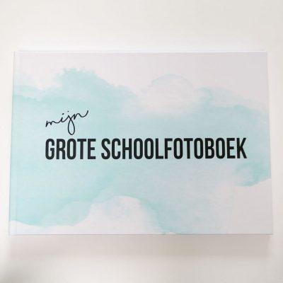 Studio DEMICO Mijn grote schoolfotoboek - Mint - voorkant - invulboekjes.nl