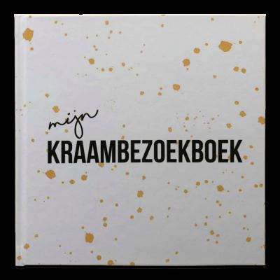 Studio DEMICO Mijn kraambezoekboek - Oker - invulboekjes.nl