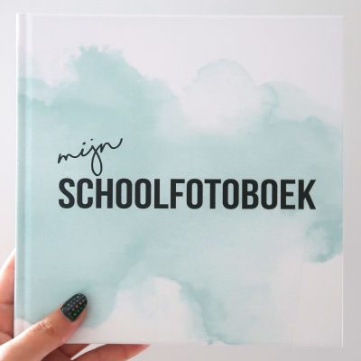 Studio DEMICO Mijn schoolfotoboek - Mint - voorkant - invulboekjes.nl