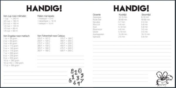 Studio Ins & Outs 'Receptenboek' - binnenkant 5 - invulboekjes.nl
