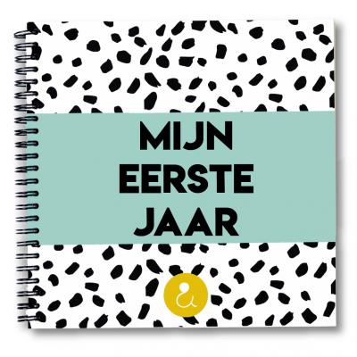 Studio Ins & Outs Babyboek 'Mijn eerste jaar' – Mint Babyboek