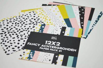 Studio Ins & Outs Fancy achtergronden - Paper pack #1 - alle patronen - invulboekjes.nl
