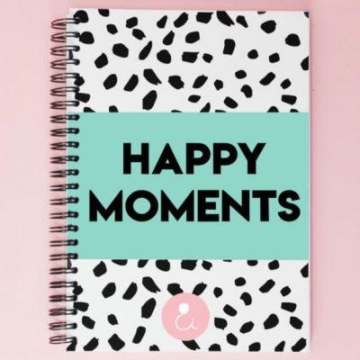 Studio Ins & Outs 'Happy moments' - Mint - voorkant - invulboekjes.nl