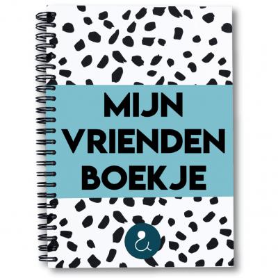 Studio Ins & Outs 'Mijn vriendenboekje' – Lichtblauw Vriendenboekje