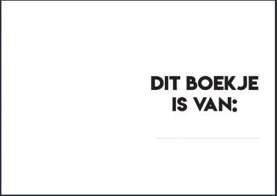 Studio Ins & Outs 'Mijn vriendenboekje' - binnenkant - invulboekjes.nl
