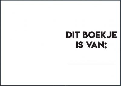 Studio Ins & Outs Oppasdagboek - binnenkant - invulboekjes.nl