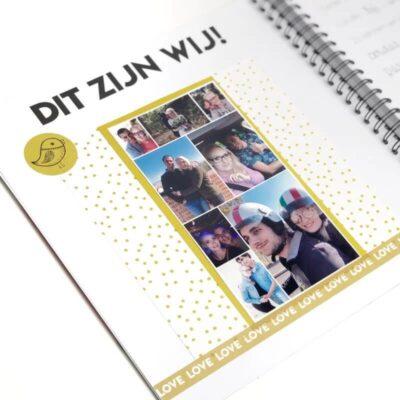 Studio Ins & Outs 'Wedding planner' - Mint - binnenkant 3 - invulboekjes.nl