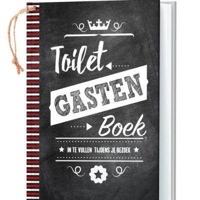 Toiletgastenboek 'in te vullen tijdens je bezoek' - invulboekjes.nl