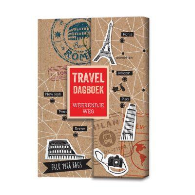 Travel Dagboek 'weekendje weg' - invulboekjes.nl