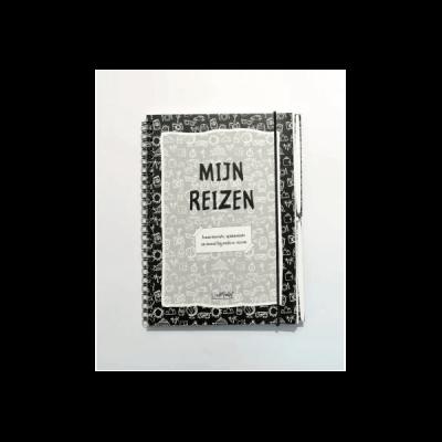 Van Mariel Mijn Reizen - Reisdagboek - Jouw mooiste, spannendste en meest bijzondere reizen - Invulboekjes.nl