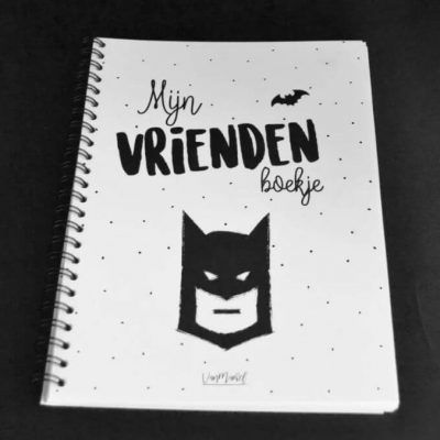 Van Mariel Mijn vriendenboekje - jongen - voorkant - invulboekjes.nl