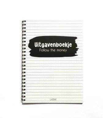 Van Mariel Uitgavenboekje - Follow the money - invulboekjes.nl
