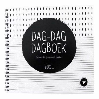 Zoedt Dag-dag dagboek - voorkant - invulboekjes.nl