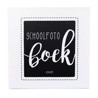 Zoedt Schoolfotoboek - voorkant - invulboekjes.nl