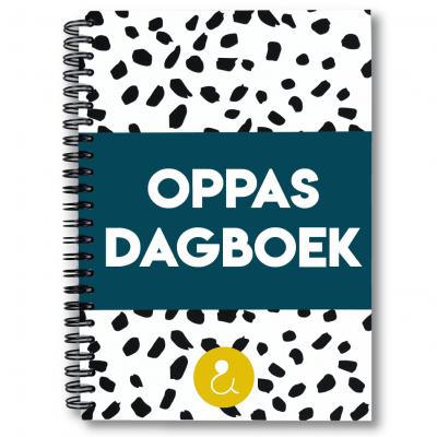 Studio Ins & Outs Oppasdagboek – Donkerblauw Creche & oppasboek