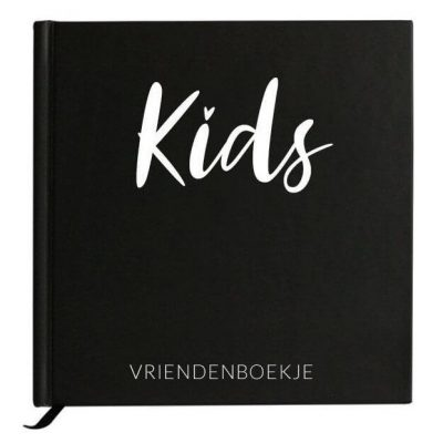 Baby Bunny - Kids vriendenboekje - voorkant - invulboekjes.nl