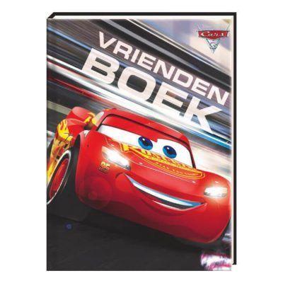 Disney Cars 3 Vriendenboek - voorkant - invulboekjes.nl