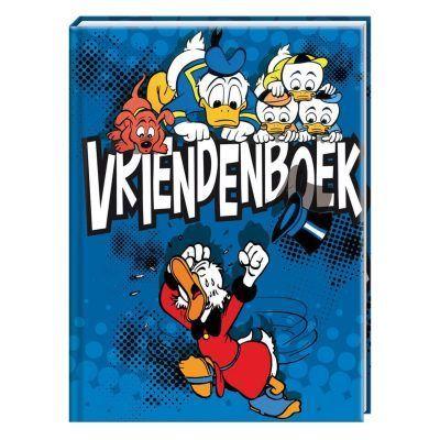 Disney Donald Duck Vriendenboek - voorkant - invulboekjes.nl