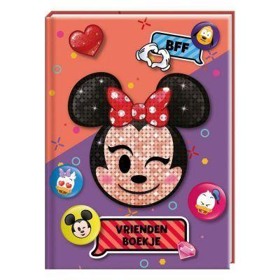 Disney Emoji Minni Mouse Vriendenboekje - voorkant - invulboekjes.nl