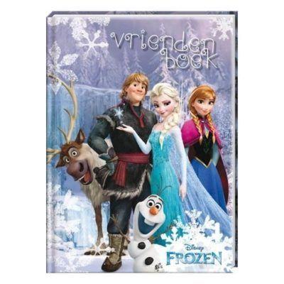 Disney Frozen Vriendenboek - voorkant - invulboekjes.nl