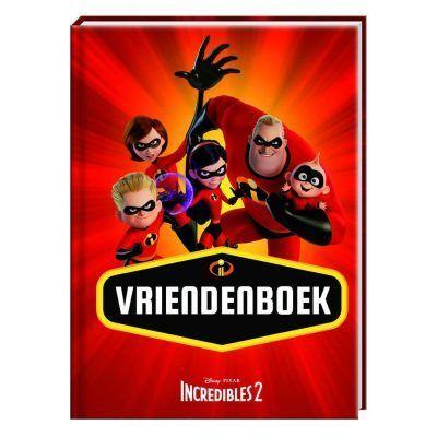 Disney Incredibles 2 Vriendenboek - voorkant - invulboekjes.nl
