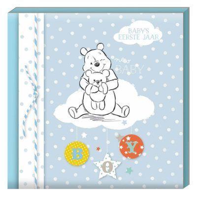 Disney Invulboek Baby's eerste jaar - Boy - voorkant - invulboekjes.nl