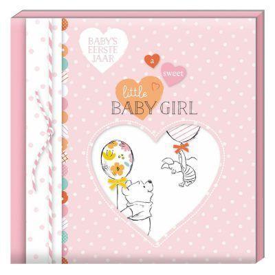 Disney Invulboek Baby's eerste jaar - Girl - voorkant - invulboekjes.nl