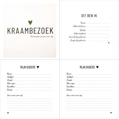 Lifestyle2Love Kraambezoek - binnenkant - invulboekjes.nl