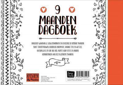 O'Baby by Pauline - 9 maanden dagboek - achterkant - invulboekjes.nl