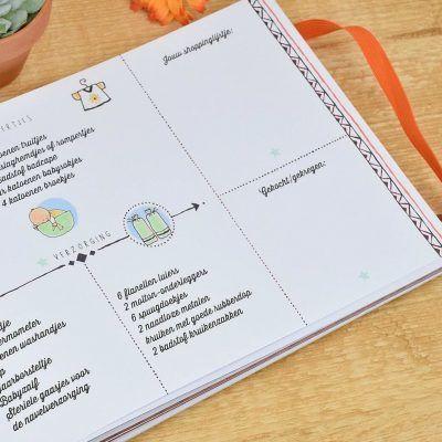 O'Baby by Pauline - 9 maanden dagboek - binnenkant 2 - invulboekjes.nl
