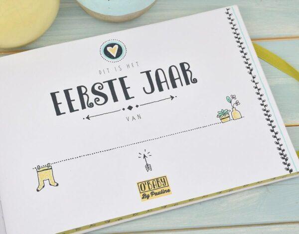 O'Baby by Pauline - Baby's eerste jaar - binnenkant 4 - invulboekjes.nl