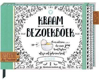 O'Baby by Pauline - Kraambezoekboek - voorkant - invulboekjes.nl